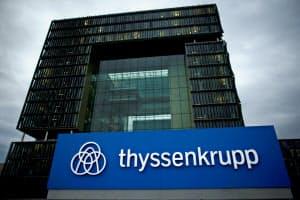 200年以上の歴史を持つ名門ティッセン・クルップが2つに分割することを決めた(独エッセンの本社)=ロイター
