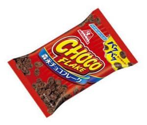 森永製菓が生産を終了する「チョコフレーク」=共同