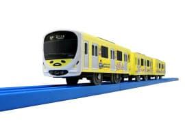 「ぐでたま スマイルトレイン」がプラレールになって登場する(C)TOMY (C)2013,2018 SANRIO CO.,LTD. 西武鉄道株式会社商品化許諾済