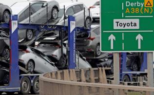 合意なし離脱ならトヨタの英バーナストン工場からの出荷が止まるおそれも=ロイター