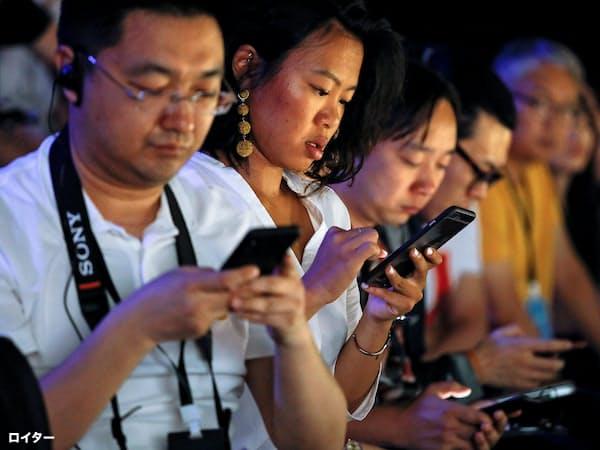 「利便性の見返りにプライバシーを手放すことをいとわない」とされてきた中国の消費者の態度は急速に変わってきている=ロイター
