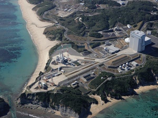 種子島宇宙センターは2018年に設立50周年を迎え、設備の老朽化などの課題を抱える(鹿児島県南種子町)