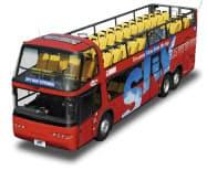 富山地方鉄道がイベントで運行するオープントップバス(イメージ)