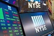 米金利の急上昇に対する警戒感が高まった=AP