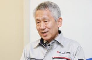 田中耕一氏は管理職でありながらも自ら研究に取り組む