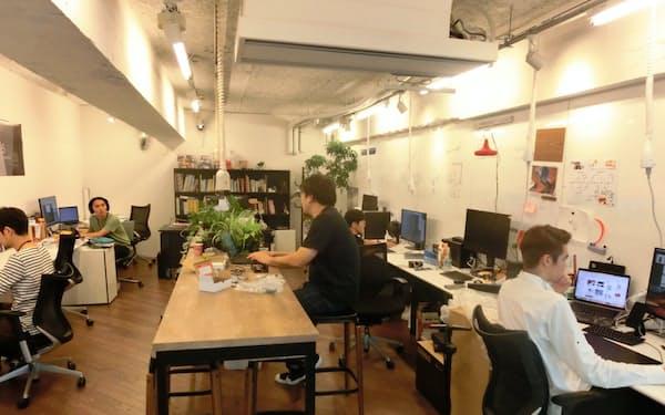 デザイン設計などのスペース(東京・芝浦のクオンタム)