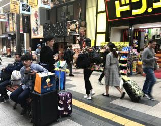 「狸小路商店街」はにぎわいを取り戻しつつある(札幌市)