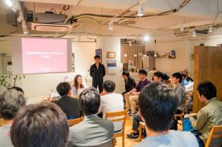 高専キャリア教育研究所が4月に開いた高専生向けのイベント(東京・千代田)