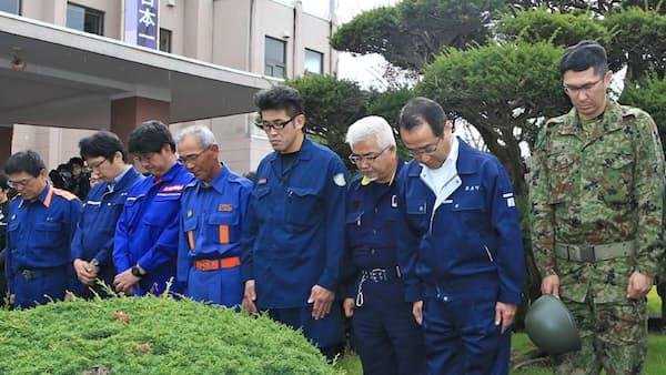 北海道地震1カ月 厚真町、日常なお遠く