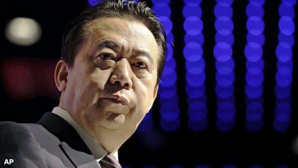ICPOの孟総裁が辞任 中国当局が促した可能性も