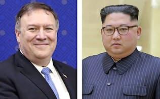 ポンペオ米国務長官、北朝鮮の金正恩委員長(朝鮮通信・共同)