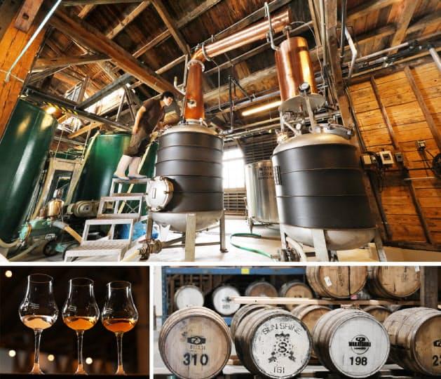 【三郎丸蒸留所】木造のぬくもりを残したまま改修。歳月を重ね、ウイスキーは色合いを深めていく(富山県砺波市)