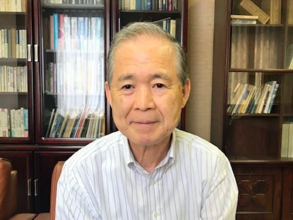 仁科一彦・大阪大名誉教授(大阪堂島商品取引所理事)