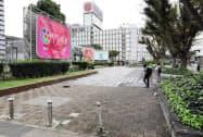 商業施設が建設される栄広場(名古屋市中区)