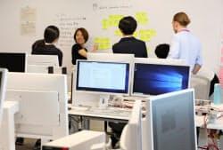 新拠点「富士通アジャイルラボ」は担当者と顧客と一緒になって開発する