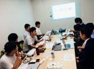 大阪府内ではすでに後継者同士が新規事業勉強会を開いている