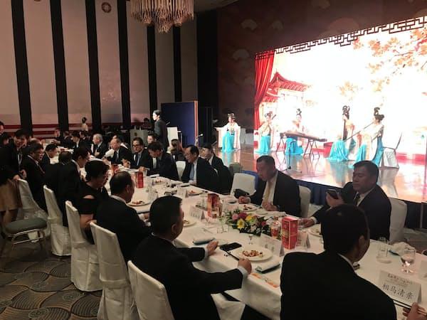 中国四川省は8月末に都内でイベントを開き日本企業に投資を呼びかけた。