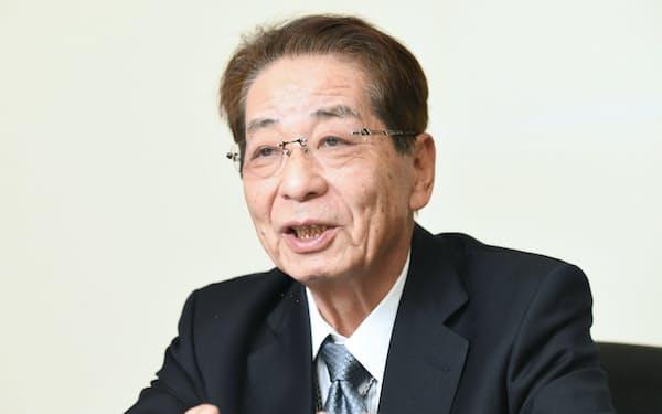 元内閣官房長官の仙谷由人氏(2016年12月)