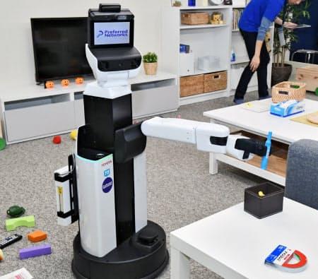 プリファード・ネットワークスの全自動お片付けロボット