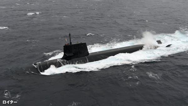 日中、潜水艦競争が激化 質量両面でにらみ合い