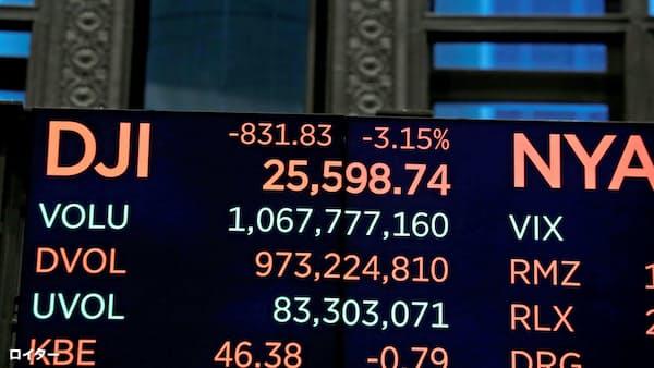 米中衝突、市場が暴く誤算