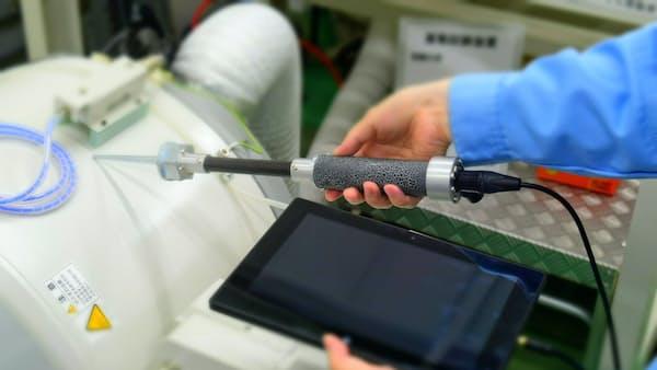 JRCS、産業機械の故障を音で検知する装置