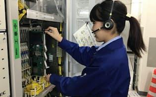 NTT東日本グループで働く高専卒業生。地域会社も一括で採用する