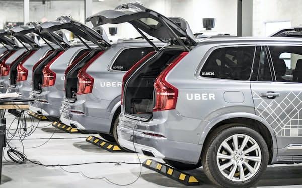 ウーバーはサウジの資金などを活用して自動運転技術の開発を進める