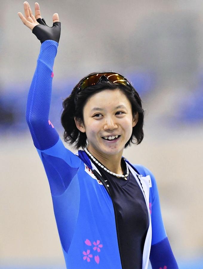 高木美帆、女子1000で優勝 スピードスケートのジャパンカップ: 日本 ...