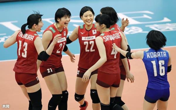 東京五輪でのメダル獲得にはそれぞれの選手のレベルアップが欠かせない=共同