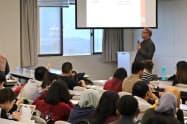 APUでは88カ国・地域から集まった学生が学んでいる(22日、大分県別府市)