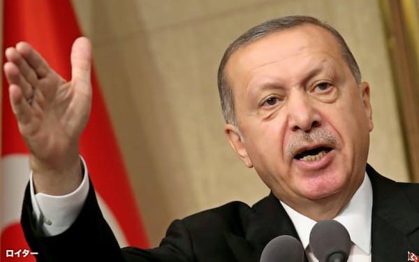 トルコのエルドアン大統領=ロイター