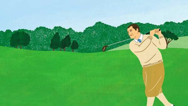 W・ヘーゲンが贈る勝利へのゴルフゲーム術(4)
