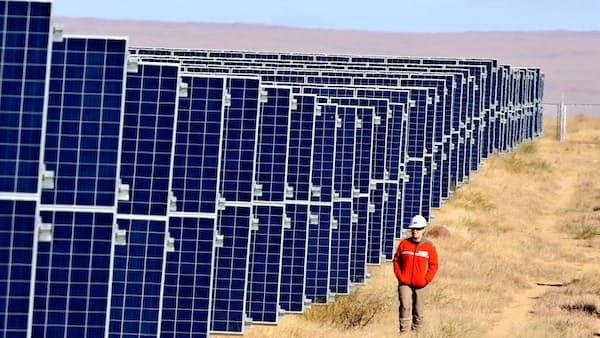 太陽光と風、砂漠の恵み ゴビの潜在力