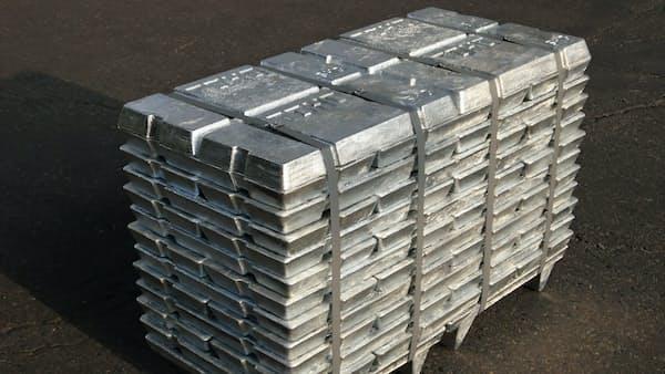 気迷う非鉄、亜鉛に底入れ気配 中国の粗鋼生産が支え