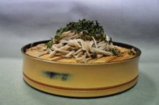 佐野製麺がジオパークにちなんで開発した「ご地層めん」