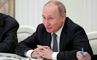 ロシアのプーチン大統領=ロイター