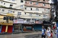 ファベーラの治安悪化は深刻な状況だ(リオデジャネイロ)
