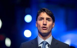 カナダのトルドー首相=ロイター