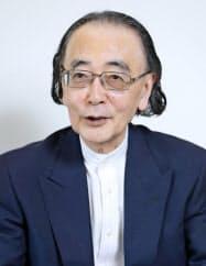 文化勲章を受章する作曲家の一柳慧さん