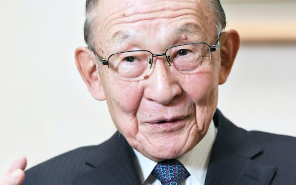 キッコーマン名誉会長の茂木友三郎さん