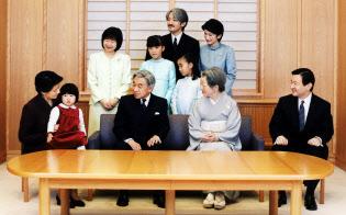 2003年12月の天皇ご一家