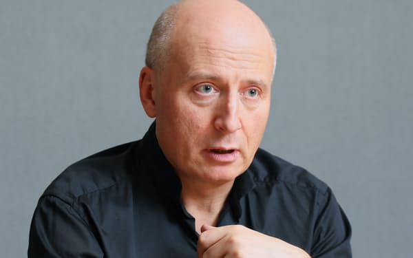 NHK交響楽団首席指揮者のパーヴォ・ヤルヴィ氏