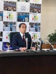5選出馬を事実上表明した福井県の西川一誠知事