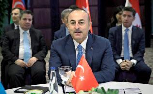 トルコのチャブシオール外相=ロイター