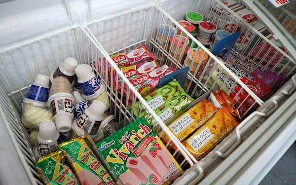 セイヒョーが生産する、冬場に人気のクリーム系アイスクリーム