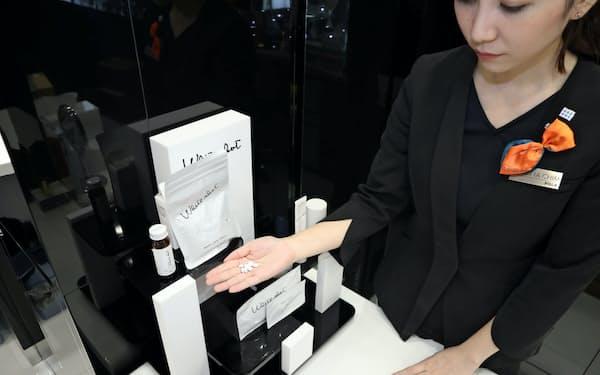 ポーラの「ホワイトショット」は香港で人気商品の1つだ