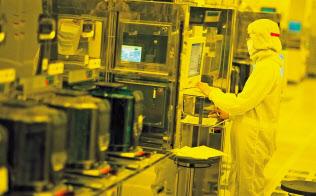 台湾IT産業は、米中貿易戦争などで試練に直面する(TSMCの工場)
