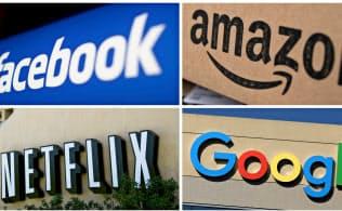 消費地国はフェイスブック、アマゾンなど米IT巨大企業の富に課税しようと虎視眈々=ロイター