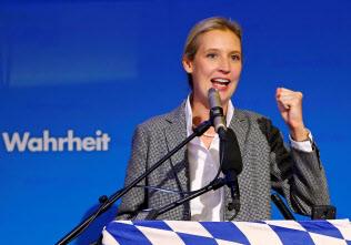 ドイツの極右政党、ドイツのための選択肢(AfD)のワイデル院内総務=ロイター